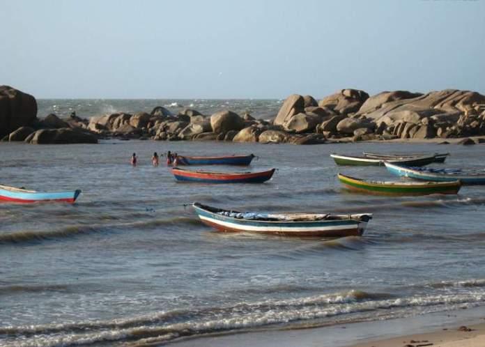 Praia da Pedra do Sal no Piauí