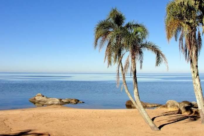 Praia das Nereidas, São Lourenço do Sul é uma das praias mais lindas do Sul Brasileiro