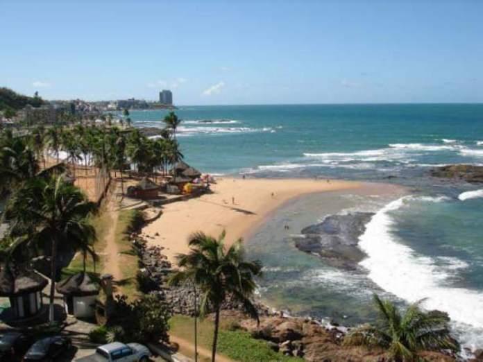 Praia de Ondina é uma das praias mais bonitas de Salvador