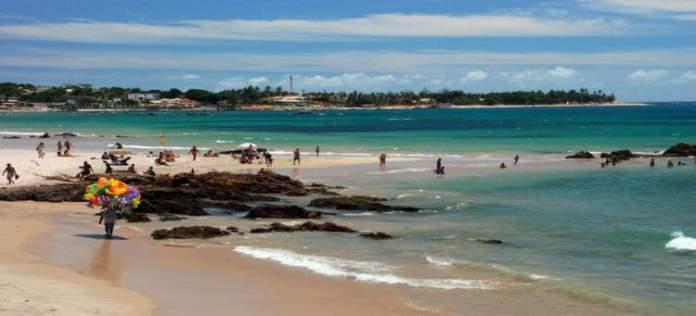 Praia de Piatã é uma das praias mais bonitas de Salvador