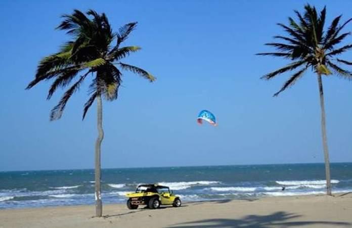 Praia do Cumbuco é uma das praias mais bonitas do Ceará