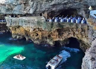 Restaurante Grotta Palazzese - Itália é um dos lugares incríveis ao redor do mundo