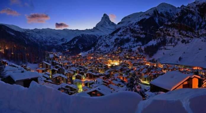 Zermatt na Suiça