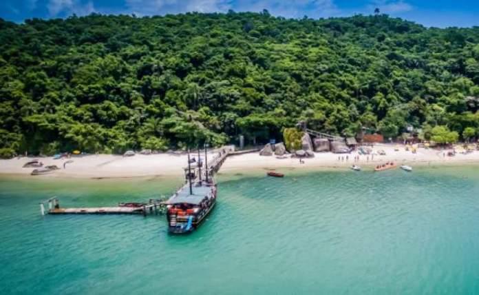 Ilha de Porto Belo em Santa Catarina-e