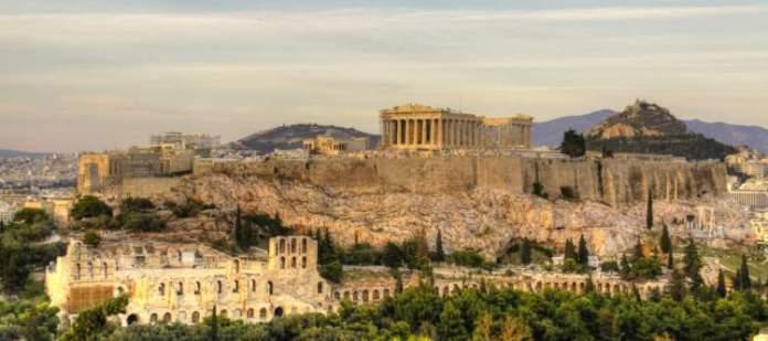 Acrópole de Atenas na Grécia 2