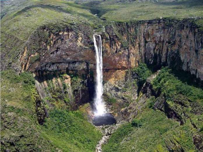 Cachoeira da Fumaça na Chapada Diamantina