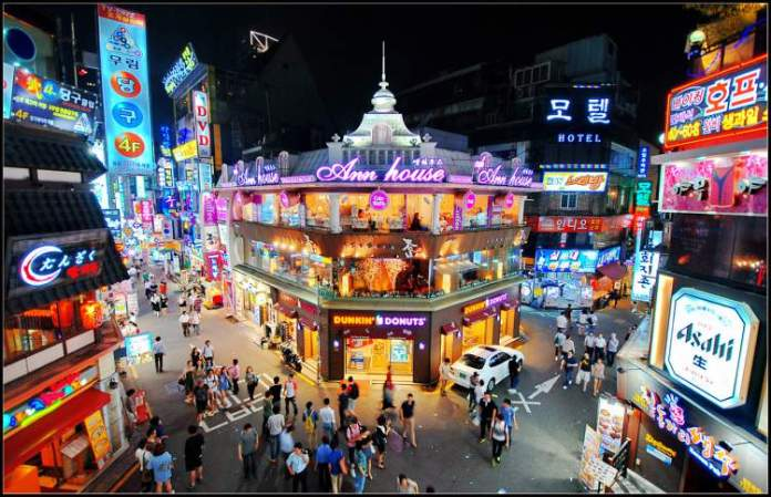 Hongdae Coréia do Sul