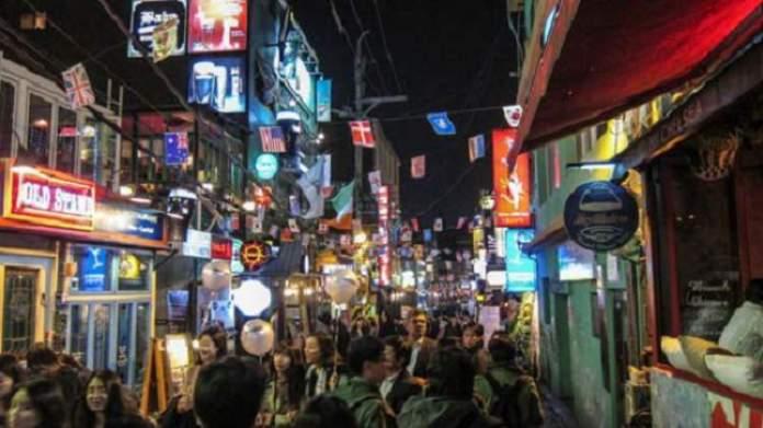 Itaewon Coréia do Sul