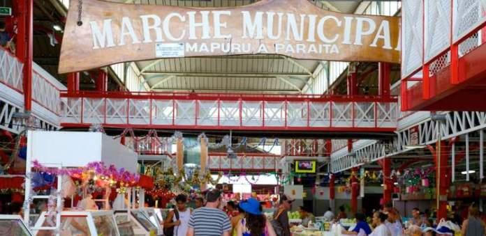 Mercado de Papeete é um dos pontos turísticos mais lindos do Tahiti