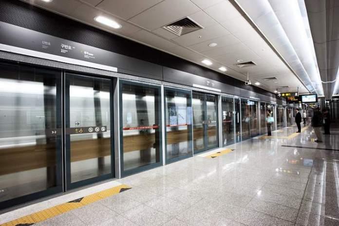 Metrô Coréia do Sul