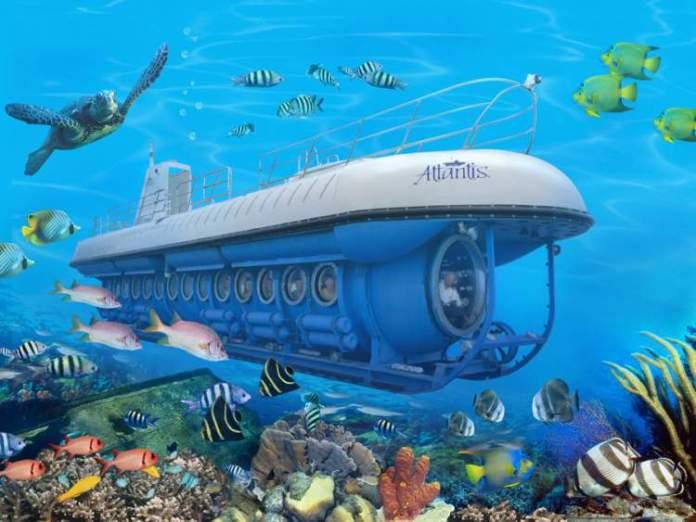 Passeio de Submarino nas Maldivas-2