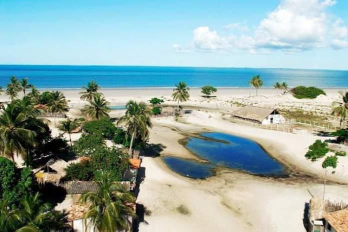 Praia de Igarapé Grande, Turiaçu é uma das melhores praias do Maranhão