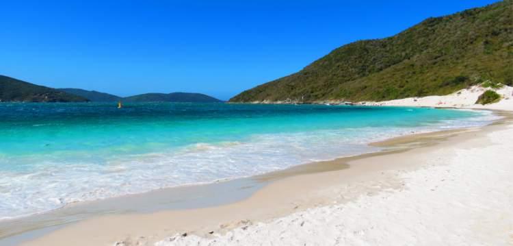 Praia do Farol é uma das melhores Praias de Arraial do Cabo