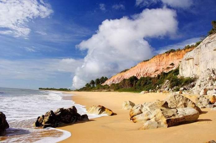 Praia do Rio da Barra, Trancoso é uma das praias mais lindas da Bahia