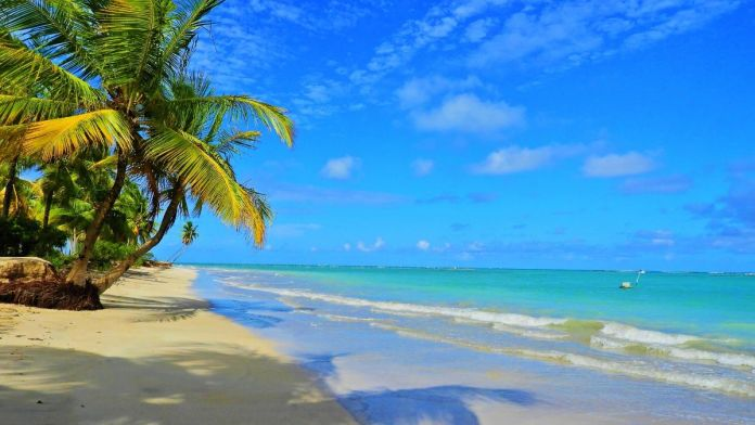Praia da Laje em São Miguel dos Milagres, Alagoas.