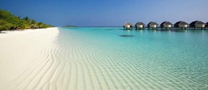 Praias nas Maldivas