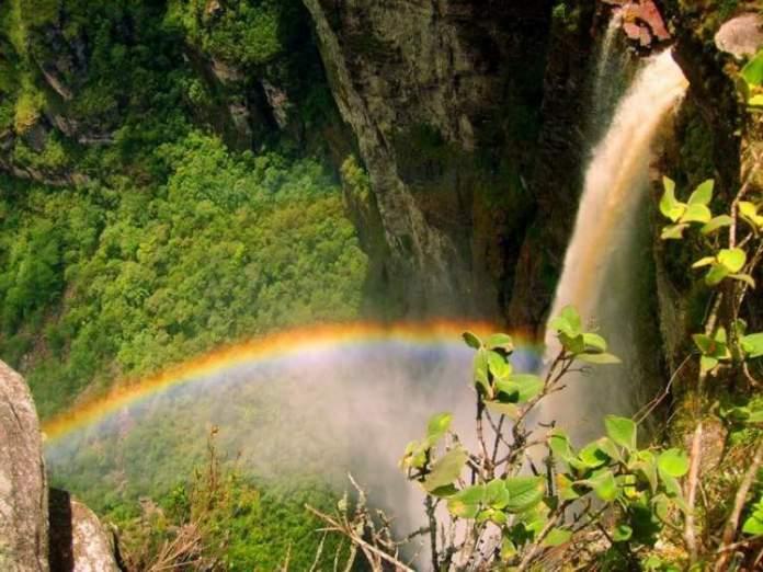 Cachoeira da Fumaça em Vale do Capão na Chapada Diamantina