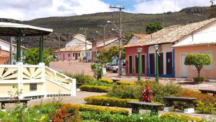Cidade de Mucugê na Chapada Diamantina