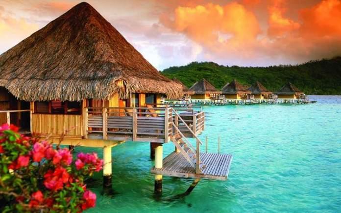 Intercontinental Le Moana – Bora Bora (Polinésia Francesa) é um dos hotéis flutuantes ao redor do mundo