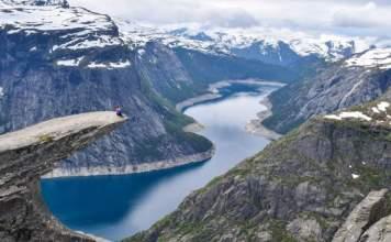 Trolltunga (Odda) é um dos destinos surreais na Noruega