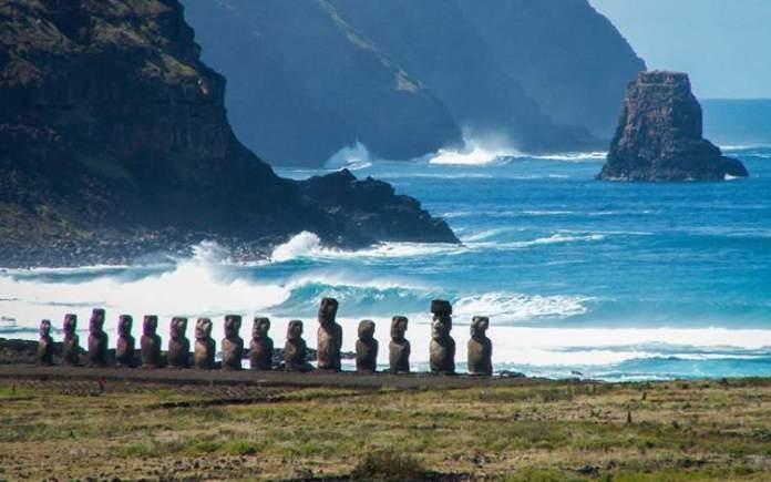Ilha de Páscoa (Chile) é um dos destinos surreais na América Latina