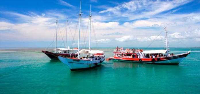 dias perfeitos em Porto Seguro parque marinho de coroa alta