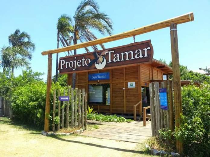 Centro de Visitantes Tamar em Vitória