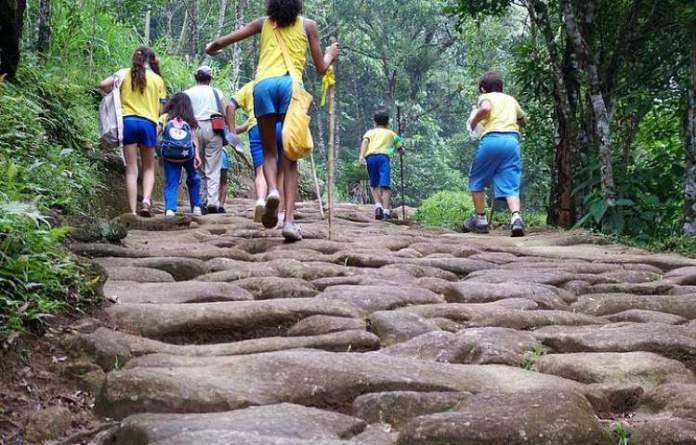 Fazer o Caminho do Ouro é uma das dicas de o que fazer em Paraty