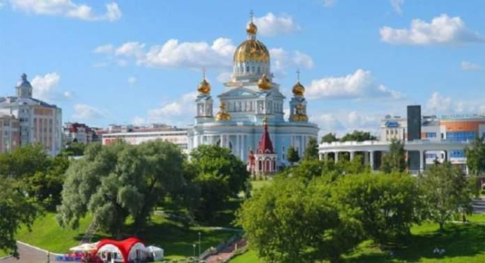 Saransk é uma das cidades sedes da Copa do Mundo de 2018