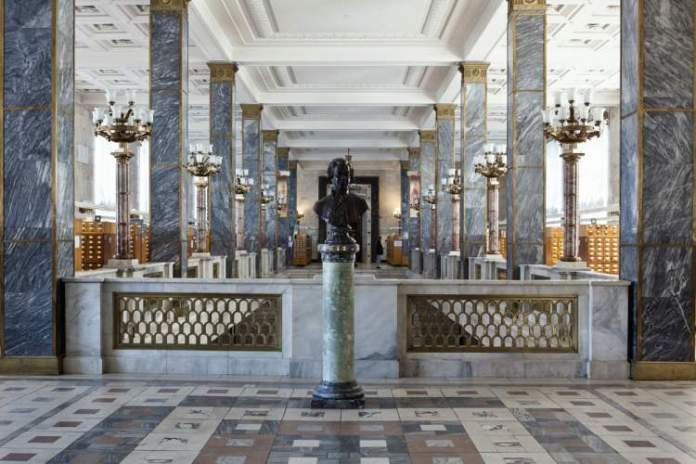 Biblioteca do Estado Russo é um dos pontos turísticos em Moscou