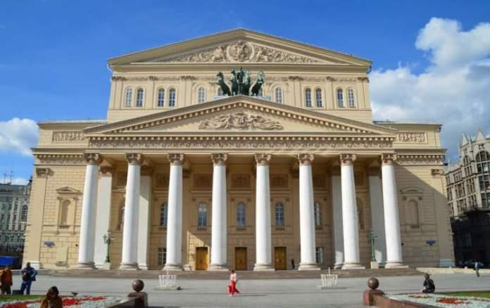 Teatro Bolshoi é um dos pontos turísticos em Moscou