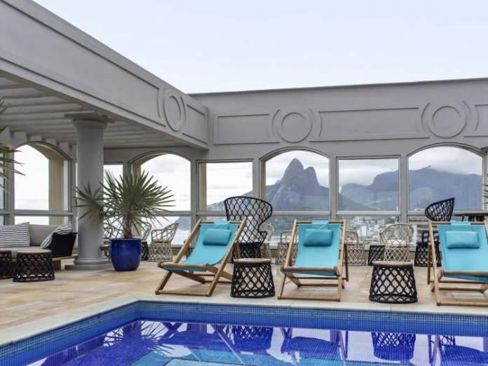 Caesar Park Rio de Janeiro Ipanema Managed by Sofitel é um dos melhores hotéis pé na areia
