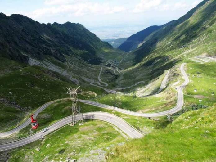 Estrada Transfagarasan Romênia