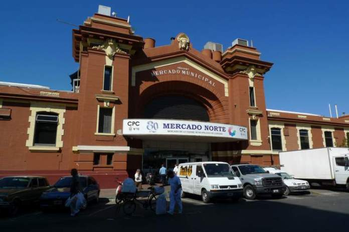 Mercado Norte em Córdoba