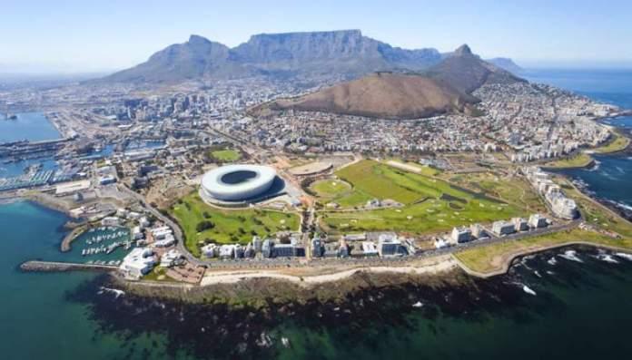 Cidade do Cabo na África do Sul é uma das cidades mais baratas para turistas visitarem