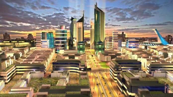 Konza Techno City no Quênia é uma das cidades futuristas