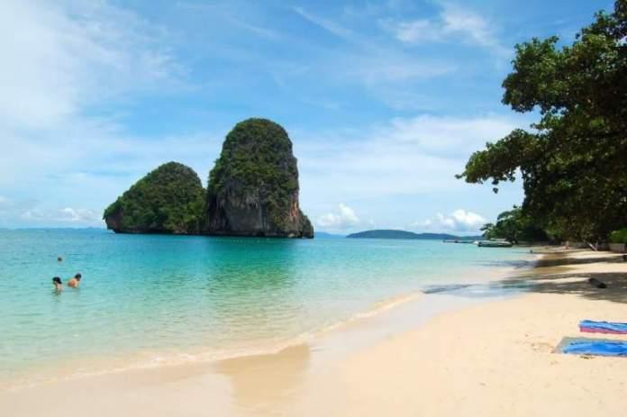 Phra Nang é uma das mais lindas praias da Tailândia