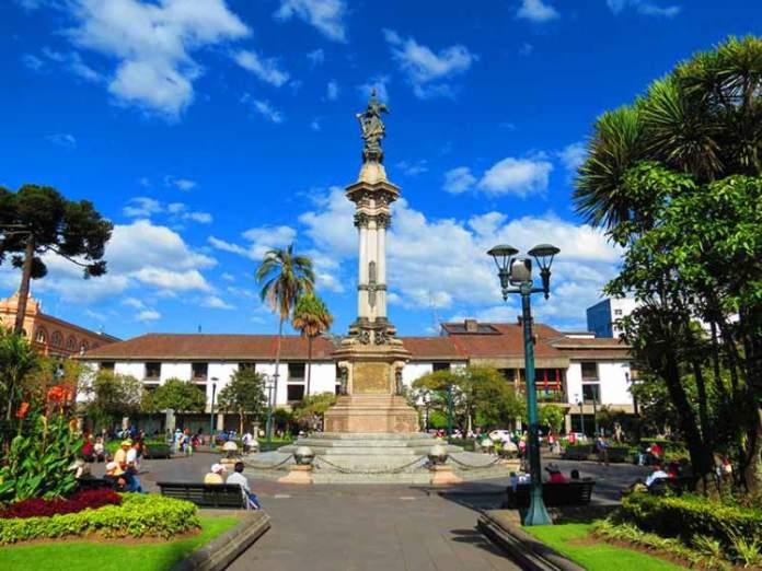 Plaza de La Independencia em Quito