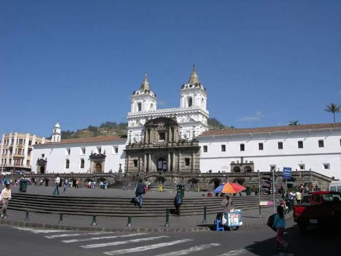 Plaza de San Francisco em Quito