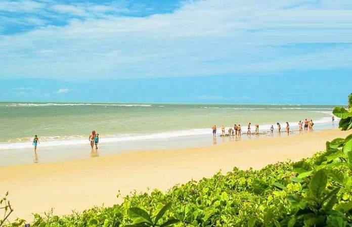 Praia do Curuípe é uma das 12 praias mais bonitas de Porto Seguro