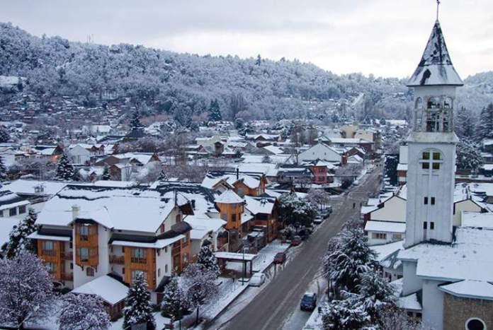 San Martin de Los Andes é uma das cidades da América do Sul para ver neve