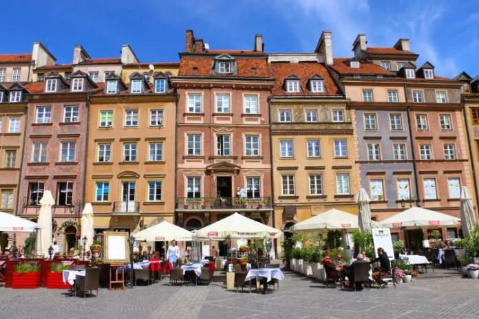 Varsóvia na Polônia é um dos destinos para viajar na Europa em 2018