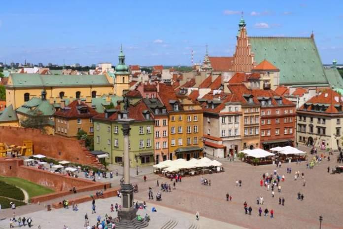 Varsóvia na Polônia é uma das cidades mais baratas para turistas visitarem
