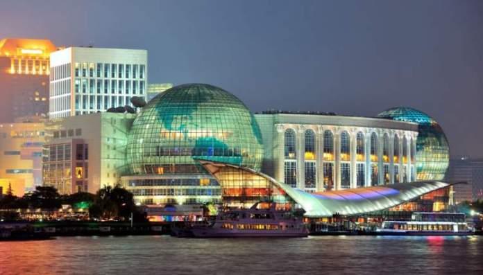 Xangai na China é uma das cidades mais tecnológicas e modernas do planeta