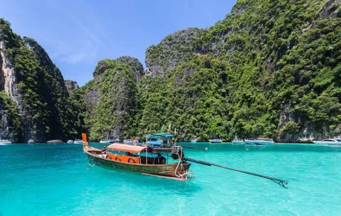 melhor época para viajar para Tailândia praia Ko Phi Phi