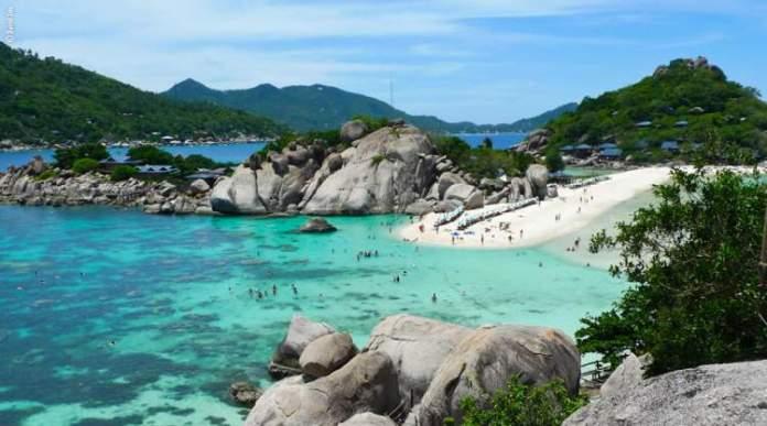 melhor época para viajar para Tailândia praia Ko Samui