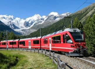 viajar de trem pela Europa capa