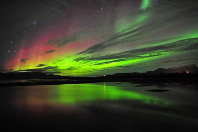 Abisko na Suécia é um dos melhores lugares para ver a Aurora Boreal