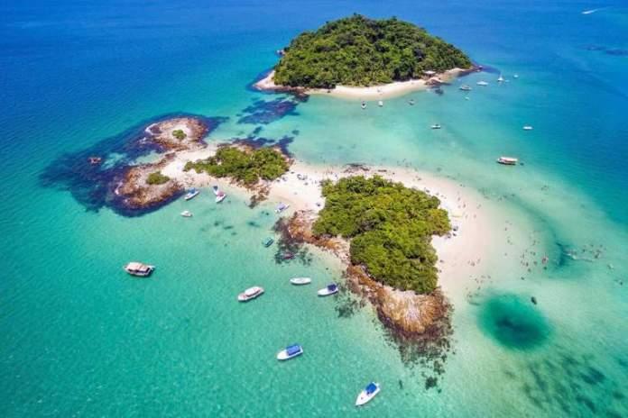 Ilha dos Cataguases em Angra dos Reis