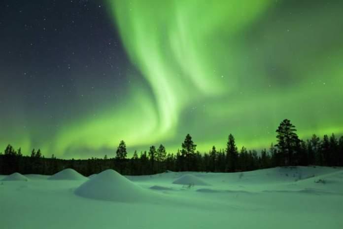 Nellim na Finlândia é um dos melhores lugares para ver a Aurora Boreal